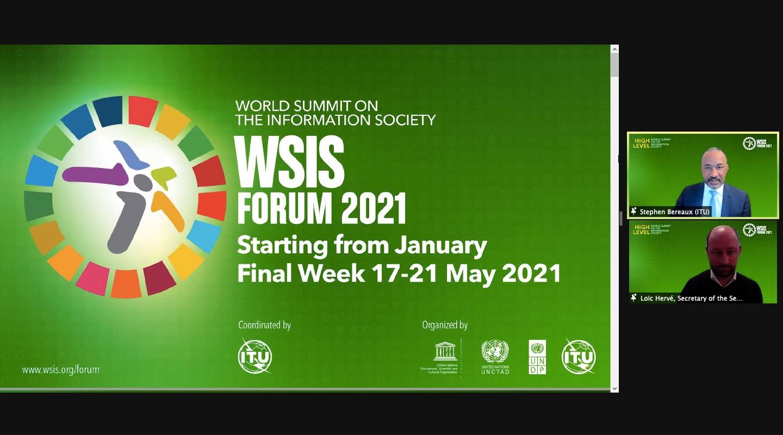 Sommet mondial sur la société de l'information 2021
