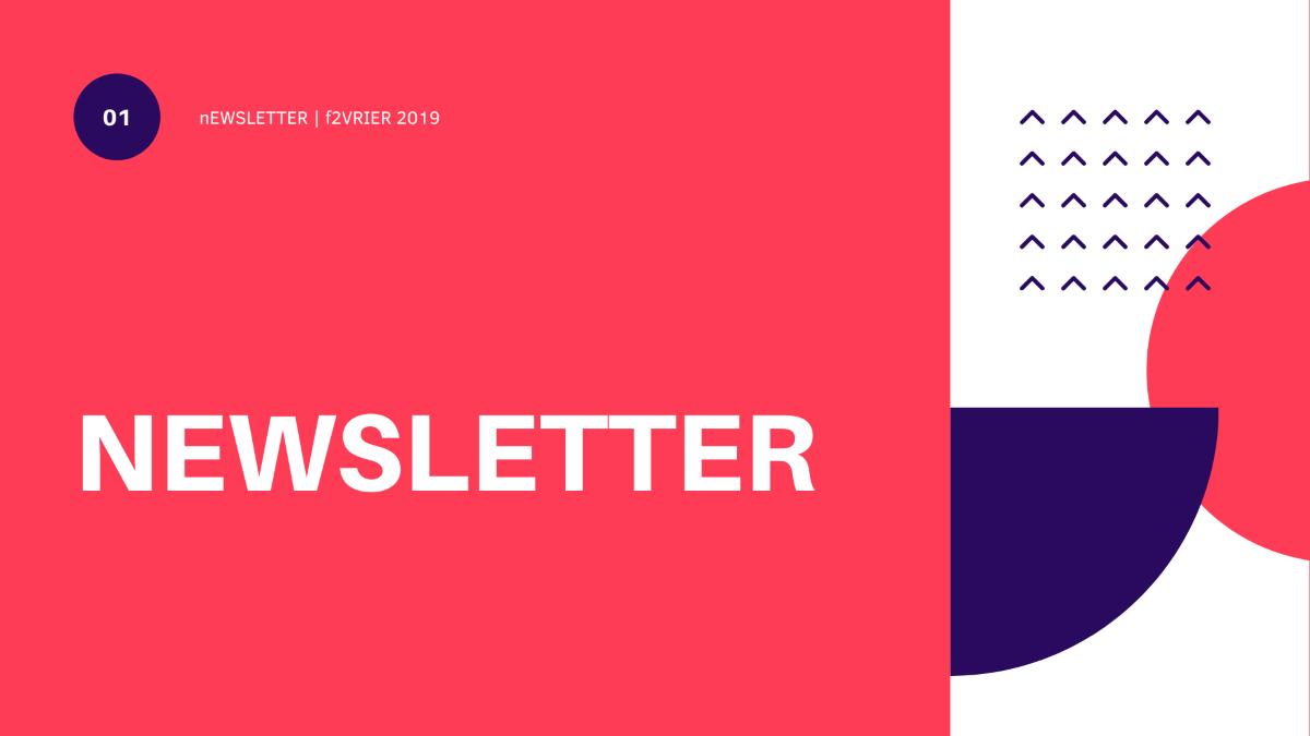 Newsletter de février 2019