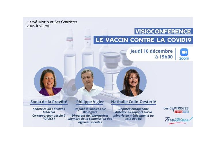Visioconférence: le vaccin contre la Covid 19