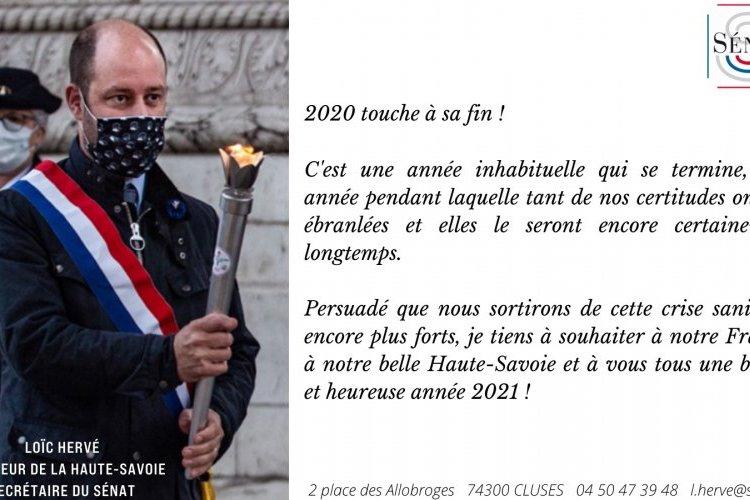 Très bonne et heureuse année 2021!